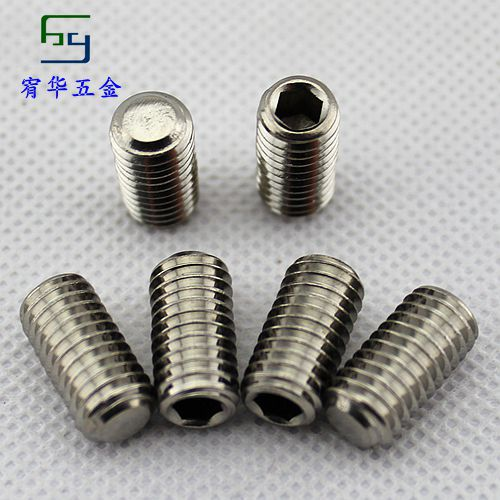 Гаджет  304 stainless steel set screws headless screws steel hexagonal flat end tight M3*3 None Аппаратные средства