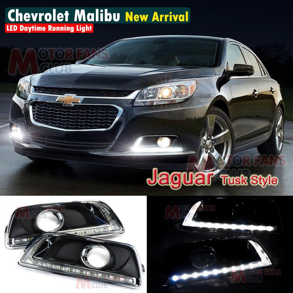 LED DRL Daytime Running Light For Chevy Chevrolet Malibu Fog Lamp DRL 2012 2013 2014<br><br>Aliexpress