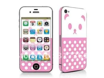 NEW!!! Protective Skin for Phone4, skin sticker for cell phones, OEM is available!