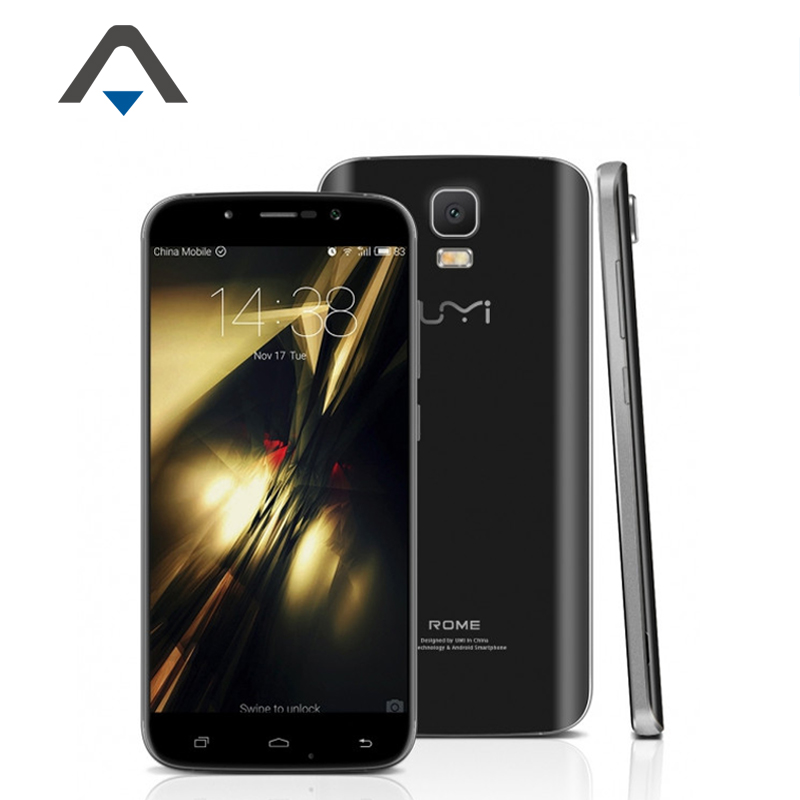 Original Umi Rome 4G LTE Mobile Cell Phone 5 5 1280x720 IPS MTK6753 Octa Core Android
