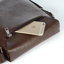 JuYao High quality Genuine Leather bag designer crossbody bags design men bags cowhide Genuine Leather messenger
