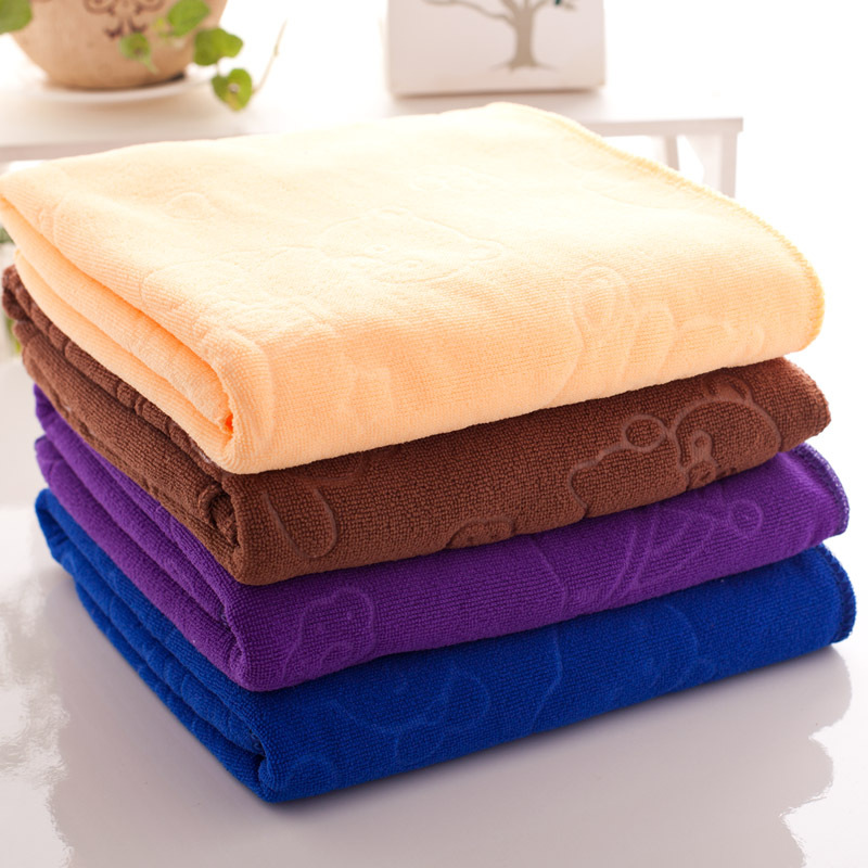 Soft Absorbent Microfiber Large Travel Beach Bath Towels 70*140cm Quick Dry Towels New(China (Mainland))