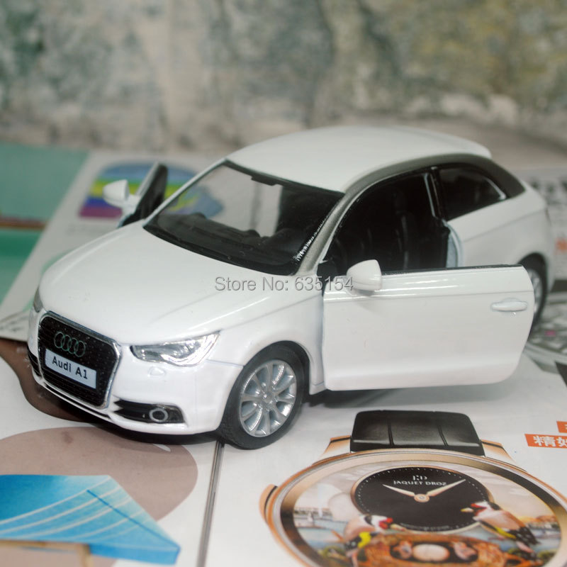 Brand New 1/32 Scale Pull Back Car Toys Classical AUDI A1 Diecast Metal Car Model Toy For Kids/Gift/Collection -Free Shipping(China (Mainland))