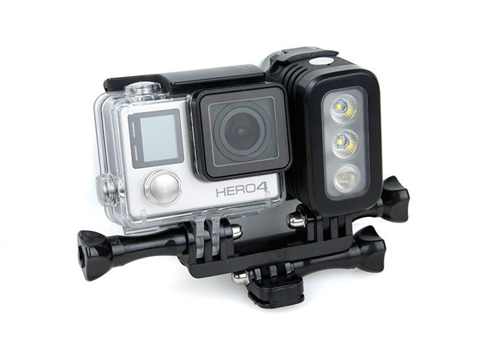 store product GoPro Accessories Waterproof Underwater Diving LED Flash Light Spot Lamp for Hero