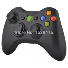 GameMod Custom Matte Black Replacement Shell and Buttons Parts For Microsoft Xbox 360 Wireless Controller Cover Game Accessory