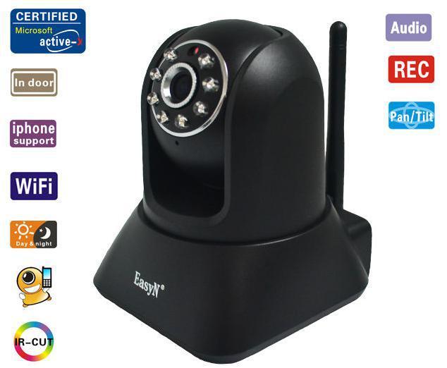 [HOT]High Quality Standard Indoor Wireless ip camera ,wireless cctv camera, retail&wholesale(China (Mainland))