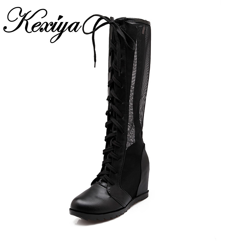 2016 new fashion summer style knee high boots