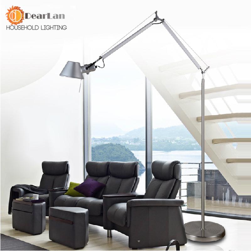 american study living room floor lamp modern minimalist bedroom lamp. Black Bedroom Furniture Sets. Home Design Ideas
