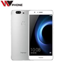 Original Huawei Honor V8 4G LTE Mobile Phone Octa Core 4G RAM 32G ROM 5.7 Inch Dual Rear 12.0MP Camera SmartPhone(China (Mainland))