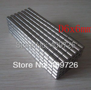 5Strong Round Magnets D6x6mm N50 Rare Earth Neodymium Magnet Great Teaching Aid - Bryan's store