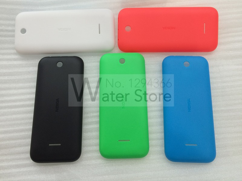 Frosting Battery Door Back Cover For Nokia 225 Back Housing Battery Cover Replacement Free Shipping(China (Mainland))