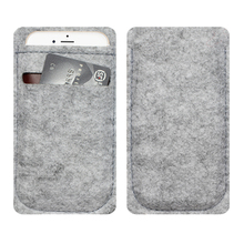 phone bag For iPhone 5 6 4.7 inch case For iPhone 5 6 4.7 inch bags mobile phone bags cases Case Cover Wool Felt Wallet(China (Mainland))