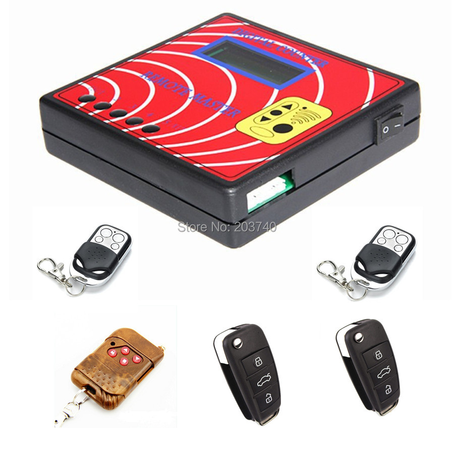 New Computer Remote Control Copying Machine Digital Counter Remote Master With 5pcs Fixed Code Remote Keys 250-450MHZ(China (Mainland))