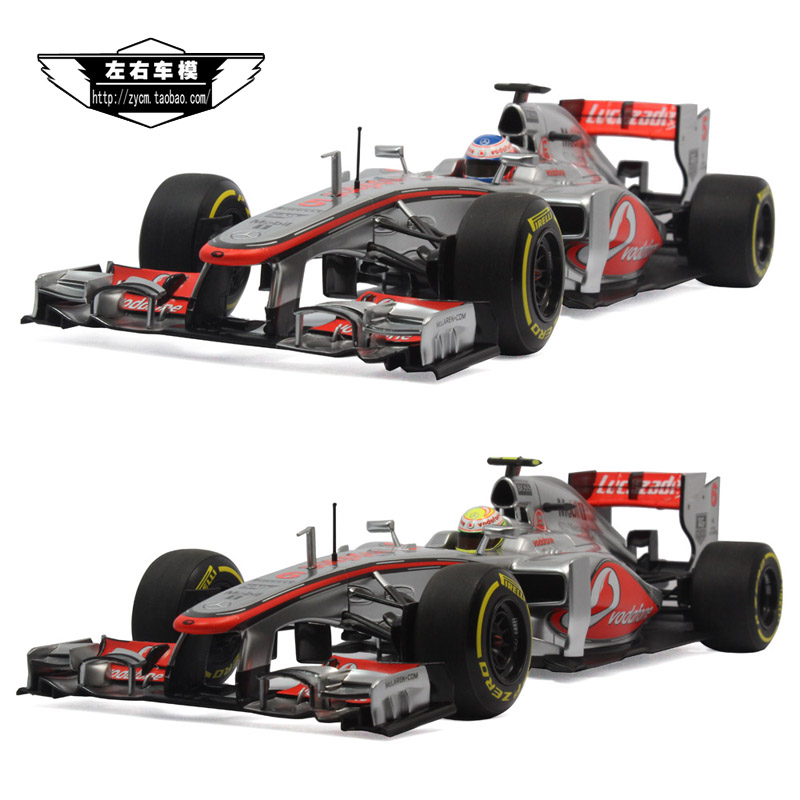 2013F1 McLaren - Mercedes 5 Barton 6 Perez mini car model 1:18<br><br>Aliexpress