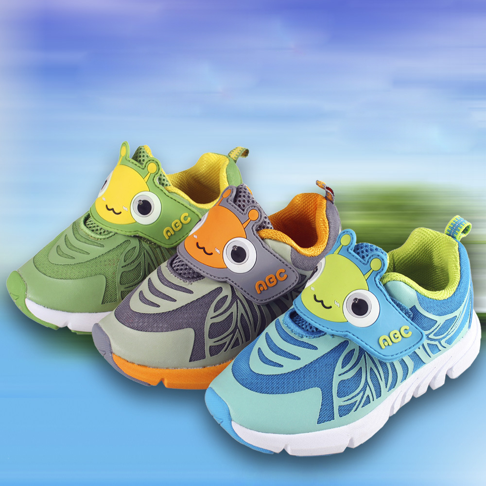 2015 sport shoes kids casual boy children spring autumn fashion Mesh rigoal Sneakers Flash Light