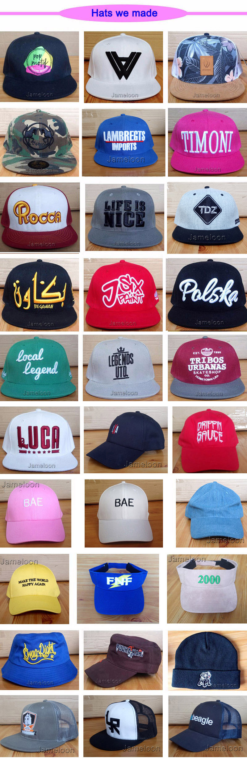 e2f227e5c5a Detail Feedback Questions about factory wholesale! custom cap ...