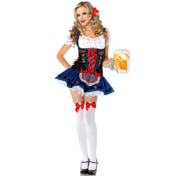 Barmaid &amp; Beer Girl halloween Costume Late Night Role Play Fantasia oktoberfest beer festival outfit german sexy femininasОдежда и ак�е��уары<br><br><br>Aliexpress