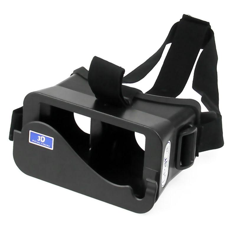 "Universal Virtual Reality 3D Video Glasses for iPhone Samsung HTC LG HUAWEI XIAOMI 4~6"" Smartphones Google Cardboard(China (Mainland))"