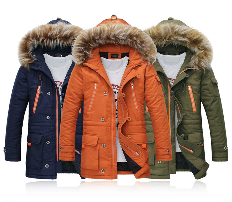 Free Shipping 2014 Fashion Men s Clothes Winter Thick Down Jackets Men s Brand Parka Coats