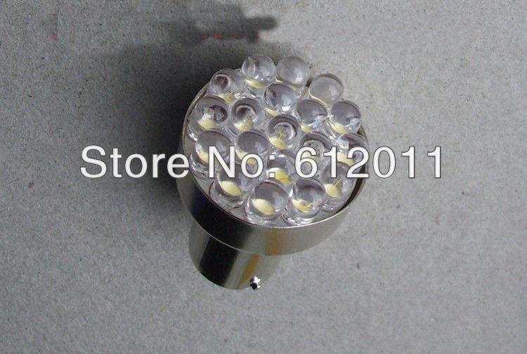 2pcs DC12V/24V 9/12 LED BA15S Motorcycle Lamp Car Truck turn light Bulbs Cold White red blue green amber(China (Mainland))
