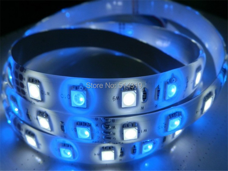 2014 direct selling High Brightness Epistar SMD5050 60LEDs/M RGBW LED Strips waterproof 5m per pack ,free mail ship(China (Mainland))