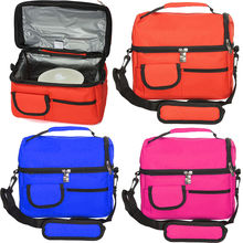 Insulated Waterproof Thermal Shoulder Picnic Cooler Lunch Bag Storage Box Tote(China (Mainland))
