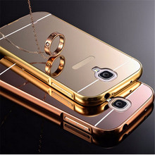 Buy Samsung Galaxy S4 Mini Case Mirror Acrylic Back Cover Luxury Arc PC Aluminum Metal Frame Samsung Galaxy S5 Mini Cases for $2.89 in AliExpress store
