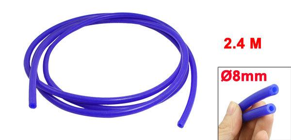 "Car Auto 2.4 Meters Silicone Vacuum Hose Tube 4mm/0.16"" Inner Diameter Pipe(China (Mainland))"