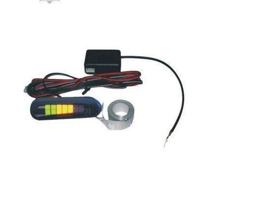 LED Electromagnetic parking sensor no holes and parking sensor electromagnetic with LED display Free Shipping
