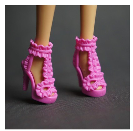 88 totally different types for select Colourful Assorted Informal Excessive heel footwear Boots for Barbie 1:6 Doll Trend Cute Latest BBI00192