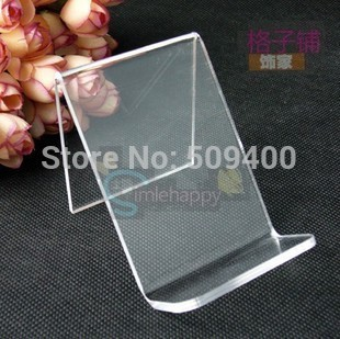 Cell Mobile Phone MP3 MP4 Stand Sale Store Display Show Acrylic Holder Rack(China (Mainland))