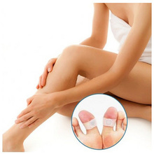 20pcs = 10pairs New 2014 Personal Magnetic Silicon Foot Massager Toe Ring Weight Loss Slimming Health Care