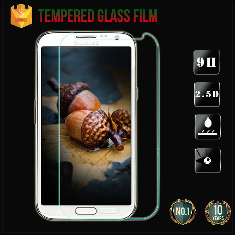"""Screen Protector On Phone safety Protective Tempered Glass Film For Samsung Galaxy note 2 note II note2 N7100 N7105 T889 5.5""""(China (Mainland))"""