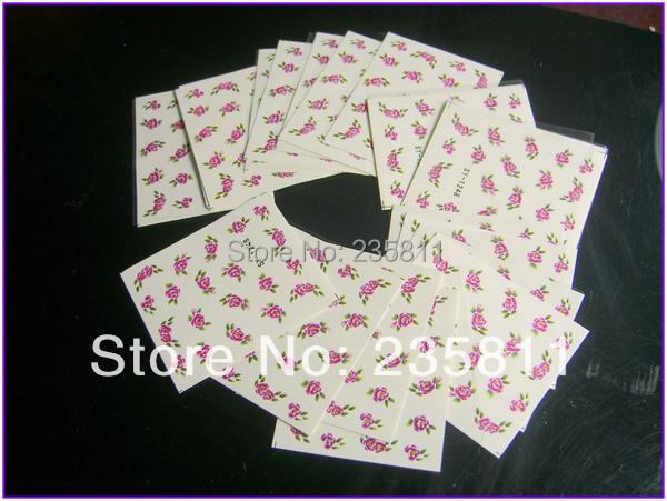 10/ LOT SY Nail Art Water Transfers Stickers Decal Opp Sleeve Packing package 1725-2114 - Jenny's nail beauty store