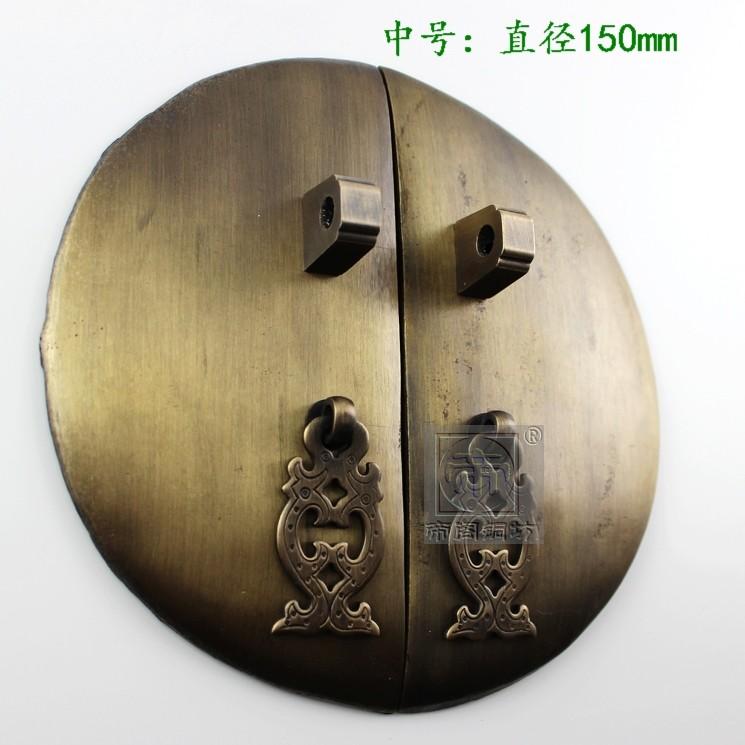 Antique furniture, copper door handles drawer cabinet handle Chinese antique DG231150 от Aliexpress INT