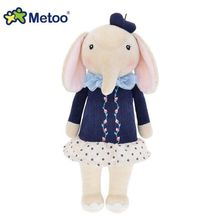 05# New Genuine METOO Series Vitality Lucky Elephant Doll Girl Plush Toy Genuine Personalized Birthday Gifts Christmas 30cm 1pcs