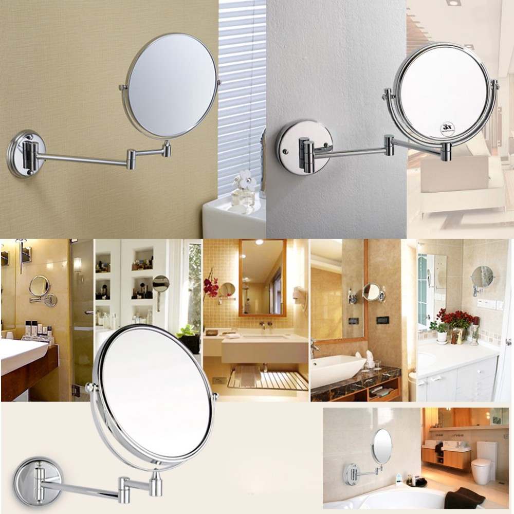 Wall mounted magnifying mirrors for bathrooms - Magnifying Mirror For Bathroom Wall Illuminated Magnifying Mirrors For Bathrooms Rukinet
