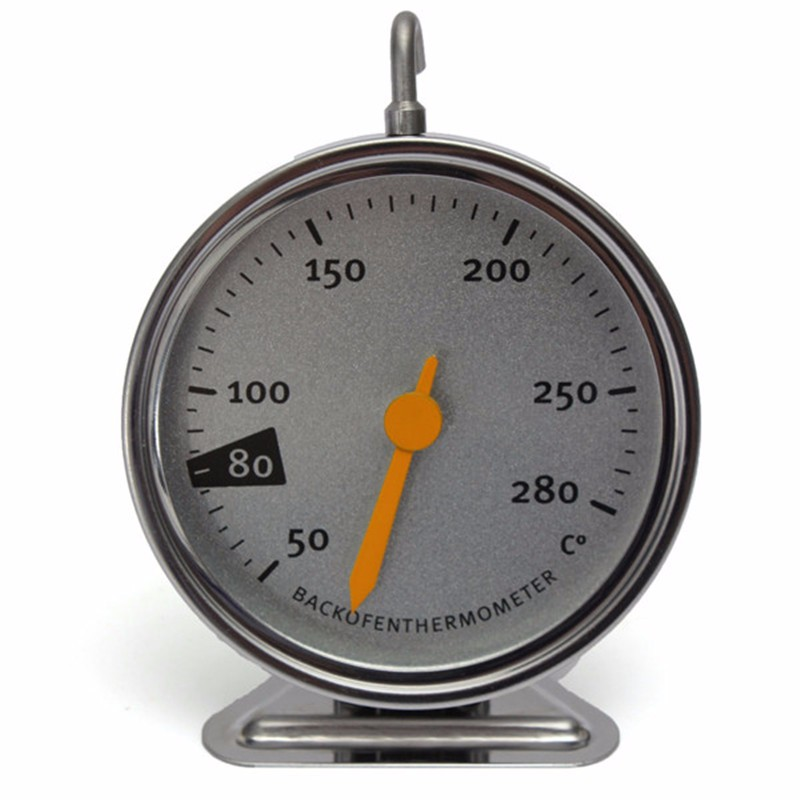 2016 Stainless Steel Oven Cooker Thermometer Mechanical Temperature Gauge M1180 Stand Up Kitchen Baking Tools Wholesale(China (Mainland))