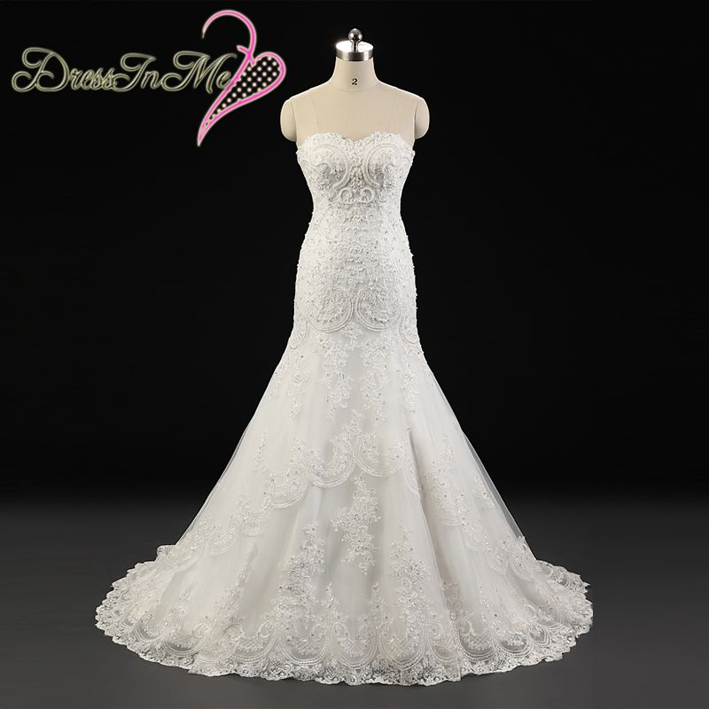 Beaded sweetheart neckline corded lace appliqued fit and for Lace a line wedding dress with sweetheart neckline