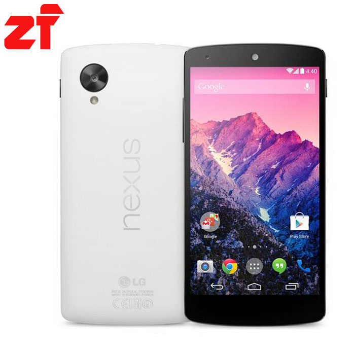 LG Nexus 5 Original 16g Unlocked Android phone Quad-core GSM 3G&4G WIFI GPS 8MP D820 / D821 Free shipping(China (Mainland))