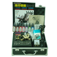 8 Color 15ml New Professional Tattoo Supply Kit Set 2 High-end Tattoo Machine(China (Mainland))