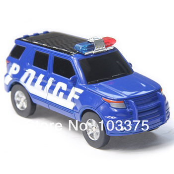 Solar police car,Mini solar powered car,toy car The best gift of children  Free shipping
