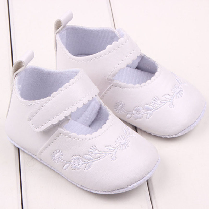Newborn Baby Girl Shoes Prewalker First Walkers Lovely Sneakers Infant Kids Girls Princess Shoes Hot Selling