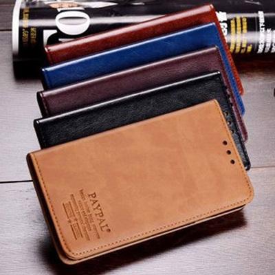 Wallet leather case For LG Nexus 5 Genuine luxury leather flip leather With Stand cover case for LG Nexus 5 case + Gift