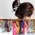 2015 New Fashion Hair Ring Large Polka dot Strip ring hair rope Accessories Bow Tie hair Accessory Stripe Rabbit Ears Headband