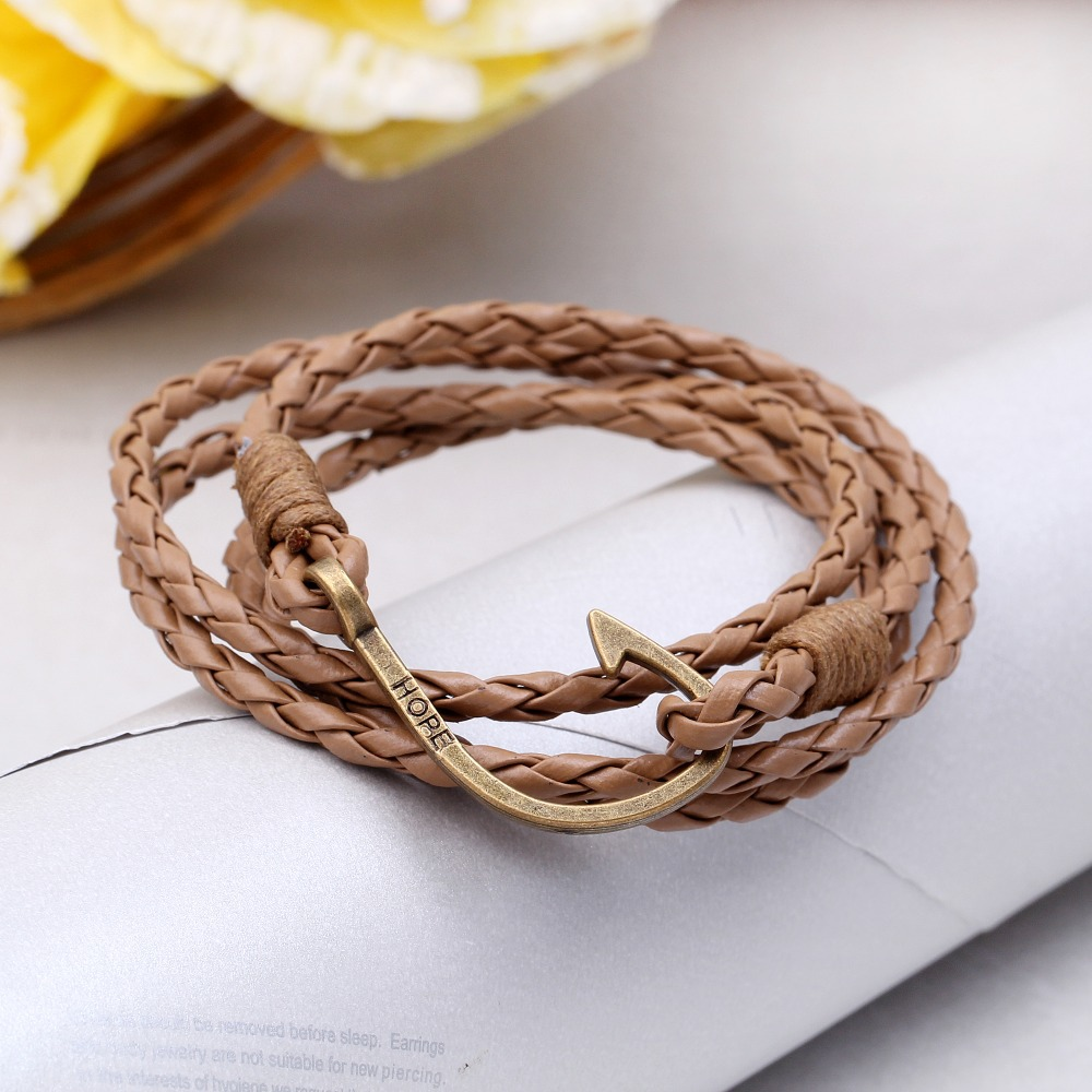 neue pulsera herren armb nder 2015 schmuck anker armband. Black Bedroom Furniture Sets. Home Design Ideas