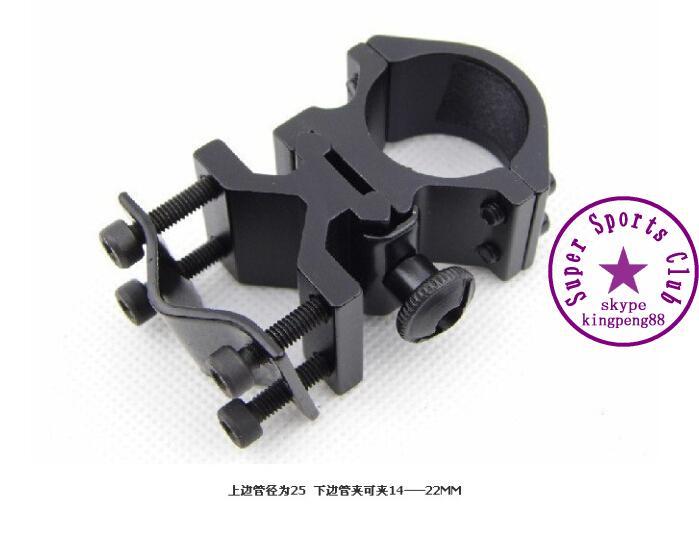 5pcs/1Lot K185 Hunting Rifle Optical Sight Bracket holder support Scope Mount Ring K185 flashlight clip 25mm Ring weaver rail(China (Mainland))