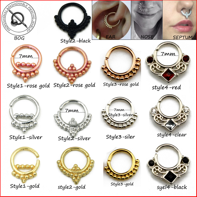 Tragus piercing reviews online shopping tragus piercing for Types of body jewelry rings