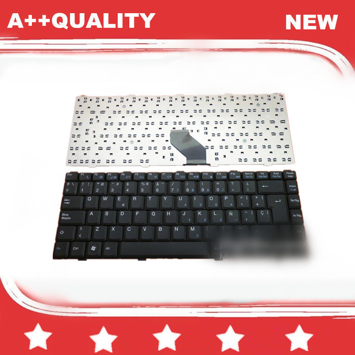 New Spanish SP Keyboard for ASUS Z96 S62 S96/GIGABYTE W451 W551N W511N SW1 TW3/HEDY KW300 KW300C TW300 Spain keyboard(China (Mainland))