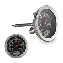 Stainless Steel Cooking Oven Fryer BBQ Barbecue Probe Thermometer Food Meat Gauge 350 Degree Centigrade